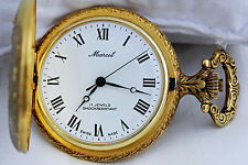 """ MARCEL "" Beautiful  Vintage 17 Jewels Mechanical Pocket Watch"