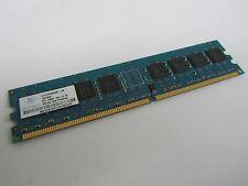 1GB Major Name Brand 533MHz PC2-4200U DDR2 Memory