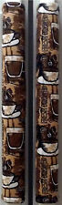 Refrigerator Oven Door Padded Handle Covers Espresso Coffee Cups Set of Two