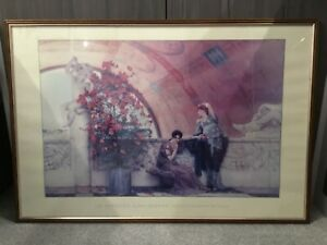 Sir Lawrence Alma-Tadema Framed Picture - Unconscious Rivals
