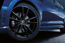"4X BRAND NEW WOLFSBURG GOLF R 19"" & NEW TYRES FOR VW CADDY PASSAT JETTA BORA"