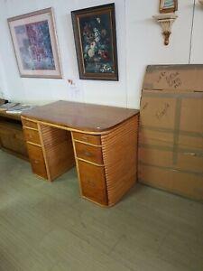 Paul Frankl Bamboo Desk