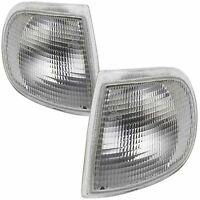 For Skoda Felicia 1995 - 2001 Front Indicators Clear 1 Pair O/S And N/S
