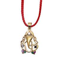 Om Ganesh Gemstone Pendent Om Ganpati Gemstone Pendent 100% Best Quality Pendent