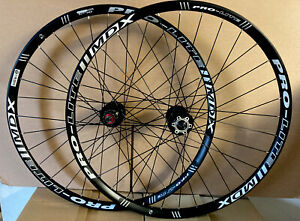 Pair Of Pro-Lite MDX 29er Disc Wheel Set Black