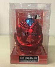 Kurt Adler Boston Red Sox 4-1/2-Inch Glass Hoodie Sweatshirt Ornament