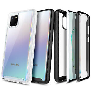 For Samsung Galaxy Note 10 Lite, Full Body Built-In Screen Protector Phone Case