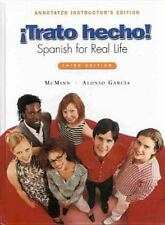 Trato hecho! Spanish for Real Life (Annotated Instructor's Edition)-ExLibrary