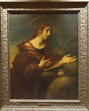 Huge Fine 17th Century Old Master Mary Magdalene Antique Oil Painting DOLCI
