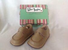 New Itzy Bitzy Caramel Infant Weston Camel Leather Shoes Size 4