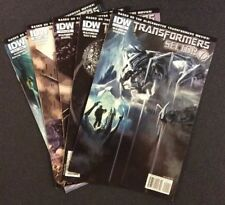 TRANSFORMER SECTOR 7 #1 - 5 Comic Books SECRET HISTORY Movie Tie-In IDW 2010