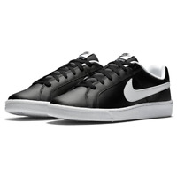 Nike Court Royale Mens Trainers Nike Leather Court Tennis Trainers Black Size