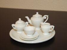 Miniature Porcelain 9 Piece Tea Set Made In Japan Marked