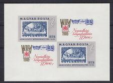 """Ungarn 1965 - Mi. Block 47B """"Ausstellung WIPA 65"""" postfrisch"""
