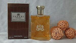 Safari For Men Ralph Lauren Eau de Toilette 125ml Splash, Discontinued Rare