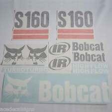 S160 Decals,S160 Stickers, Bobcat Loader Sticker Kit (2 Srp)