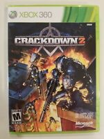 Crackdown 2 (Microsoft Xbox 360, 2010)- Complete With Manual VG FREE S/H