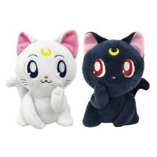 New Sailor Moon Luna & Artemis Plush Pair Set F/S from Japan