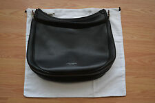 NEW MARK JACOBS LARGE BLACK LEATHER HOBO SHOULDER BAG PURSE NEVER USED DUST BAG