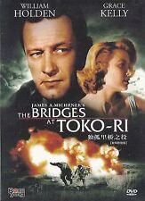 The Bridges at TOKO-RI All Region DVD William Holden, Grace Kelly, Fredric March