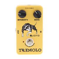 Joyo JF-09 Tremolo Guitar Effect Pedal True Bypass A1H3