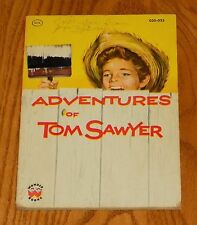 ADVENTURES OF TOM SAWYER PAPERBACK BOOK MARK TWAIN WONDER BOOKS 1955 VINTAGE