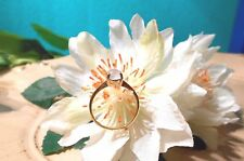 Juwelo Silberring Blauer Aragonit Ring 925 Sterling Silber Vergoldet   NEU