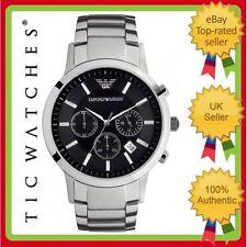 Emporio Armani Men's Luxury Wristwatches with Chronograph