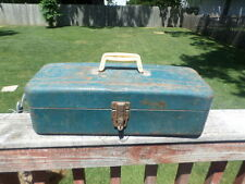 VINTAGE UNION TACKLE BOX OR TOOL BOX  FISHING TACKLE BOX MADE IN USA