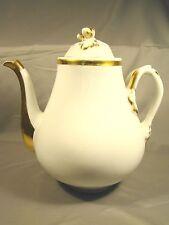 Old Paris Porcelain Second Empire Acorn & Branches Tea Coffee Pot  c1850-1870
