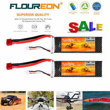 2x 2S 7.4V 2200mAh 35C LiPo RC Battery Deans for RC Car Truck Airplane Drone FPV