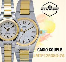 Casio Couple Watch LTP1253SG-7A MTP1253SG-7A