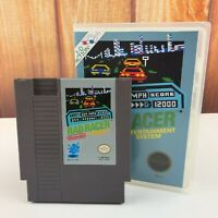 Rad Racer NES Nintendo Game In Plastic Box Case Vintage 80's Free Ship Retro VTG