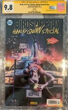 Birds of Prey: Harley Quinn Special__CGC 9.8 SS__Signed by Margot Robbie