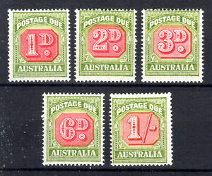 Australia Part Postage Due set MH KGVI Cat £45++  1946-57  [A191021]