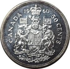 1960 Canada Silver Half Dollar - Brilliant Unc.