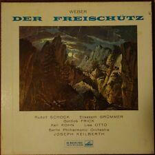 ALP 1752-4 Weber Der Freischutz / Schock etc. / Keilberth / BPO 3 LP box