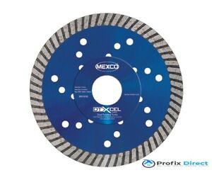 Mexco DTXCEL Duel Purpose Turbo Range Diamond Blades 115mm To 350mm