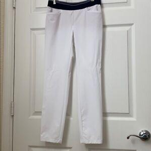 NWT Chervo Ladies Salak Golf Pants 64011 100 White Sz 6 NEW**BLEMISH**