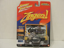 BLACK  '65 FORD MUSTANG ZINGERS STREET FREAKS JOHNNY LIGHTNING
