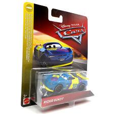 Disney Pixar Cars Diecast Richie Gunzit #70 Next Gen Piston Cup (Mattel 2019)