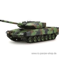 Ferngesteuerter RC Panzer Leopard 2A6 2,4 Ghz Metallgetriebe, Heng Long Panzer