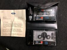 Ford Audio Systems Cassette Jbl Demonstration Tape + Custom Cleaning Kit
