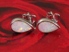 Echtschmuck mit Opal-Hauptstein und Tropfen-Schliffform für Damen