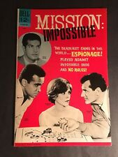 MISSION IMPOSSIBLE #1 GOLD KEY  BETHLEHM PEDIGREE 9.0 VF-NM WHITE PAGES
