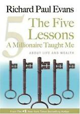 The Five Lessons A Millionaire Taught Me: About Life and Wealth - VERY GOOD