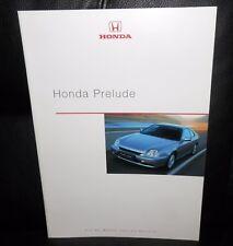 Honda Prelude 5. Generation Prospekt / Katalog! Deutschsprachig Ungelocht