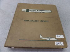 TURBO AERO COMMANDER MODEL 680W MAINTENANCE MANUAL