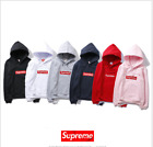 Women Men Hoodie SUPREME Hip Hop Hoodie Embroidered Cotton Sweater Men's Hoodies