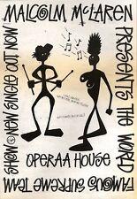 10/11/90 Pgn21 Advert: Malcolm Mclaren opera House New Single On Virgin 10x7